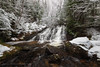 Arnold Mine Falls (Kevin Pihlaja) Tags: arnoldminefalls coppercountry keweenaw upperpeninsula michigan waterfall snow river creek trees forest nature landscape rocks ice peaceful serene grass