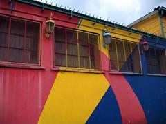 Farolitos de colores (Lady Smirnoff) Tags: laboca colores colors colorful colorido faroles streetlamps