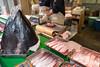 tuna&salmon (Zaza-Zabriskie) Tags: tsukiji tokyo leicaq