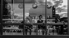 Friday Reflection (Digital Salt) Tags: reflection streetphotography leica dluxtyp109 seattle street usa