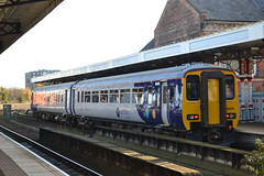 Northern Super Sprinter 156438 (Will Swain) Tags: station 11th november 2017 north east train trains rail railway railways transport travel uk britain vehicle vehicles country england english middlesbrough northern super sprinter 156438 class 156 438