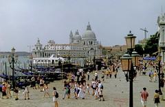 Venice (Jurek.P) Tags: venice wenecja city cityscape church nabrzeże embankment architecture architektura italy włochy europe scan 35mm minoltadynax7000i jurekp