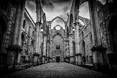 Convento do Carmo (steff808) Tags: lisboa portugal pt lisbonne lisbon conventodocarmo nikond750 nikon24120 noiretblanc blackandwhite blancoynegro bw biancoenero