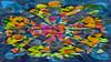 Bildschichten Fruechteteller 44 (wos---art) Tags: früchte arrangements stillleben fotografie bildschichten früchteteller obstteller geschnittenesobst früchtestücke inliebe füresther obst orangen kiwi banane birne himbeeren ananas weintrauben apfel