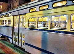 PCC streetcar, San Francisco (sftrajan) Tags: pccstreetcar hdr sanfrancisco muni streetcar trolleycar tram night edited toolwiz 94114 elétrico tranvía tramway трамвай strasenbahn spårvagn