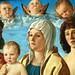BELLINI Giovanni,1487 - La Vierge et l'Enfant entre Saint Pierre et Saint Sébastien (Louvre) - Detail 51