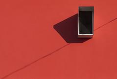 ... a shot of red ... (jane64pics) Tags: window vent red minimal minimalism minimalist lessismore redwall black redandblack janefriel janefriel2018 lissone