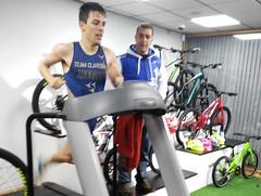 Jaime Rodado triatlón Indoor team clavería triatlón World 4