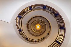 Elegance (Nikonphotography D750) Tags: hamburgstairs weitwinkel sony sonyphotography sonyalpha6500 ilce6500 hamburgmeineperle hamburg staircase treppe treppenhaus spiralstaircase sonyalpha downtown thisish architektur brahmskontor rotunde