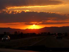 Muğla-Turkey (Betül DOĞAN) Tags: sunset sun muğla fethiye turkey turquia türkiye landscape puestadelsol way road