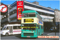 McKINDLESS OF WISHAW B296WUL (SCOTTISH BUS ARCHIVES) Tags: londonbuses b296wul mcwmetrobus m1296 leasidebuses arrivalondon mckindlessofwishaw