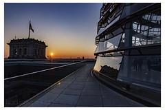REISCHSTAG SUNSET (champollion-10) Tags: sunset cityscape berlin reichstag