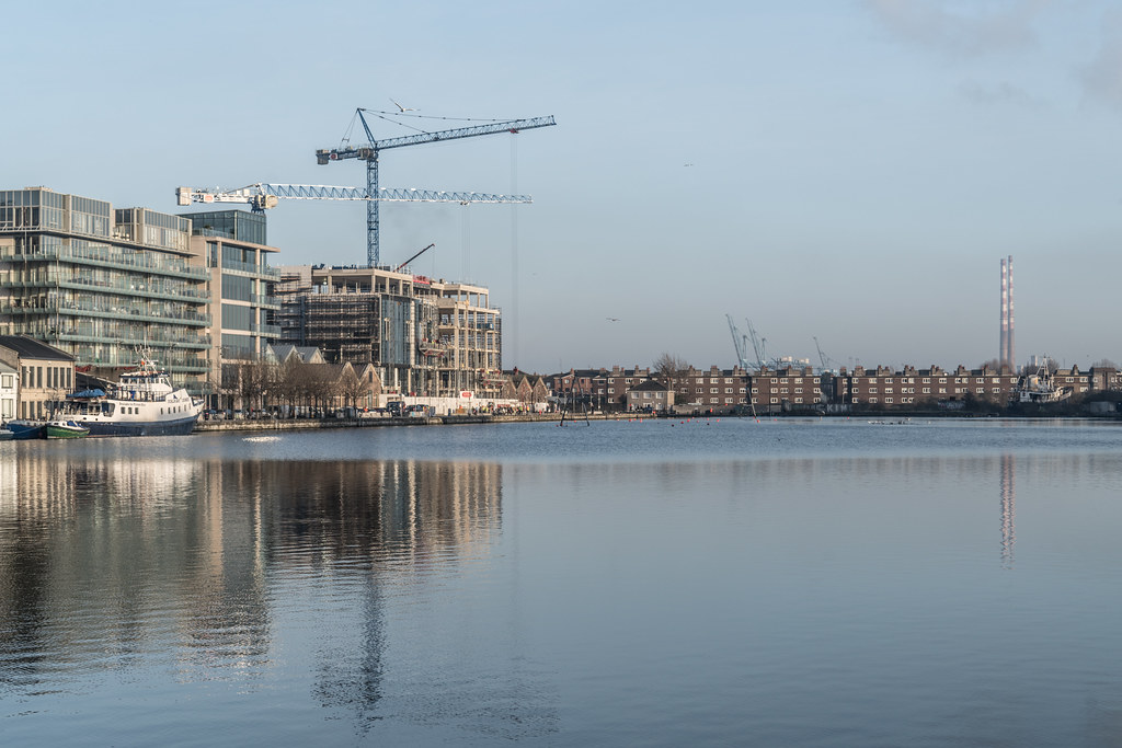 GRAND CANAL DOCK AREA OF DUBLIN [PHOTOGRAPHED 11 JANUARY 2018]-135448