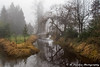 Foggy Days (R. Sawdon Photography) Tags: fog trees stream river bridge bushers peaceful dreamy mapleridge pittmeadows aluoetteriver green winterfog reeds walkway water metrovancouver backroads misty branches reflection brown winter westcoast