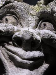 My Favourite Novel (Fiction) - Macro Mondays (Crisp-13) Tags: myfavouritenovelfiction macromondays my favourite novel fiction macro mondays stone gargoyle face eyes nose mouth andrew davidson
