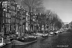 Keizersgracht, 7-1-2018 (kees.stoof) Tags: keizersgracht amsterdam centrum grachten canal zwartwit