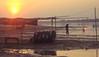 Sunset on the Mekong (dusk_rider) Tags: river mekong thailand laos sunset dusk twilight water rubber ring canon powershot a560 nong khai flickrchallengegroup