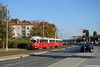 Wien (A), 02.10.17, E1 4795 + c4 1342 auf dem 25er nahe dem Donauspital (Andreas Beeck) Tags: wien wiener linien e1 c4 rotax sgp simmering 25 düwag duewag donauspital hardeggasse floridsdorf