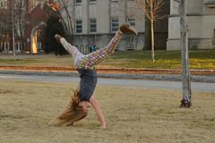 Cartwheel skills (radargeek) Tags: ou norman oklahoma ok 2017 january cartwheel exercise