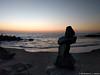 Sculpture on the Beach (David J. Greer) Tags: pacific ocean beach beachside seashore shoreline puerto vallarta mexico puertovallarta vacation resort westin skyline sunset dusk sculpture rock rocks