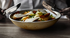 Just Ceasar.. (bmarcin94) Tags: ceasarsalad salad salatka food jedzenie chicken kurczak eggs foodporn colors daily lifestyle 50mm canon eos200d photography polish