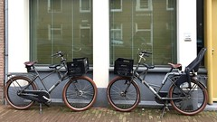 Twin WorkCycles Fr8s (@WorkCycles) Tags: amsterdam bike dutch fiets fietsen fr8 mamafiets papafiets transportfiets twins workcycles