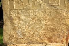 Stela 1 , Detail 3, Bonampak Mayan Ruins, SE Mexico (elhawk) Tags: stela1 bonampak chiapas mexico maya
