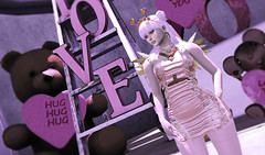 Your Hart Out 2018 (kyoka jun) Tags: shopyourheartout valentines event free gifts blueberry stockings erratic nicki rucheddress {limerence} hair theforge necklace astralia bellamoda secondlife sl selfphoto love