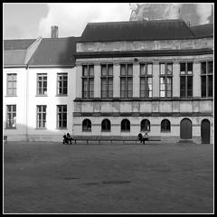 apart (Jan Herremans) Tags: bw belgium gent candid cityscape