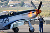 P-51 Startup (EverydayTuesday) Tags: 2017 renoairraces canon 40d 100400 p51 p51d mustang rollsroyce merlin v12 flames startup reno nv nevada aircraft