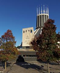 Liverpool Metropolitan Cathedral, England (teresue) Tags: 2017 uk england unitedkingdom liverpool merseyside albertdock salthousedock mountpleasant catholic cathedral metropolitancathedral romancatholic