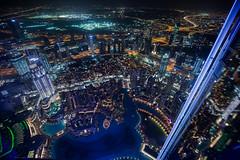 Dubai (Hegglin Dani) Tags: dubai uae emirates citylights burjkhalifa unitedarabianemirates night lights