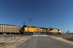 56932 (richiekennedy56) Tags: unionpacific sd70ace ac44cw up8668 up6360 kansas shawneecountyks topeka menoken railphotos unitedstates usa