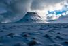 Kirkjufell (Þorkell) Tags: fjall vetur iceland winter snjór cloudy ský kirkjufell nikkorafs1635mmf4gedvr clouds snæfellsnes nikond750 snow mountain is