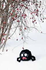 (mercer_spb) Tags: dontstarve spider plush toy winter snow