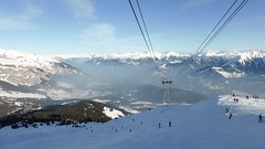 View from topstation Crap Sogne gion, Laax (Alta alatis patent) Tags: laax wintersport 2018 crap top cabine lift panorama
