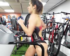 Alba Álvarez triatlón Indoor team clavería triatlón World 10