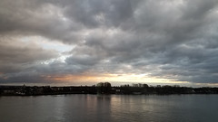 Rhine River (grinnin1110) Tags: mainz de deutschland viewfromroom water germany overcast cloudcover landeshauptstadt clouds hilton newyearseve rhineriver hotel flus rhein sky fluss rheinlandpfalz europe morning rhinelandpalatinate