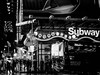 Times Square at night in the rain (Web-Betty) Tags: nyc ny newyork newyorkcity manhattan timessquare city urban bnw blackandwhite