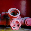 Pink plastic hydraulics on a dark red background ( microcity) (sandroraffini) Tags: chronic city dettagli details micro macro sony rx100m1 hydraulics abstract reality color pink rosa rosso red plastic rubinetto pipe psichedelico psychedelic bologna porto reno canali sotterranei underground channels cabinet urban exploration tubo vita quotidiana everyday life scoperte tap verde green