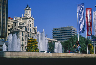 Plaza de Colón, Madrid.