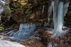 Icicles over Copperas Creek (sniggie) Tags: appalachia copperascreek easternkentucky kentucky redrivergorge ice icicles winter