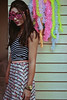 Barbie Day (TheJennire) Tags: photography fotografia foto photo canon camera camara colours colores cores light luz young tumblr indie teen people portrait barbieday barbie party happybirthday birthdayparty 2018 50mm fashion style summer glasses 23 girl makeup