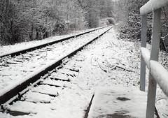 P1148607 (Dreamaxjoe) Tags: snow winter hó budapest vasút railway outofservicerailroadtrack