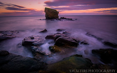 Seaton Sluice Face (sidrog28) Tags: seaton sluice newcastle northeast northumberland north beach nikon d7100 tokina rocks sunset long exposure