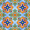 Spanish tile seamless pattern. Watercolor painting (Julia Faranchuk) Tags: spanish ceramic decoration design wall tile blue arabesque decorative floor mosaic ornamental pattern tiled traditional wallpaper yellow fabric azulejo background flowers geometric mexican moroccan oriental ornaments portugal portuguese print seamless white wrapping arabic barcelona bathroom damask decor fashion floral islam italian majolica motifs red tiling vintage texture