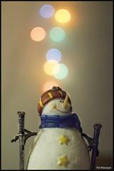 Snowman (Pol Massagué) Tags: 2017 snowman bokeh nadal christmas