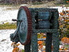 Machinerie (Jean S..) Tags: machinery green rust rusty beach