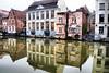 Ghent in wintertime (1) (jackfre 2) Tags: belgium ghent gent gand flanders winter buildings riverleie