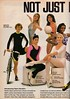 Danskin 1990 (barbiescanner) Tags: vintage retro fashion 90s 90sfashions 1990 seventeen 90steens vintageads 90sads danskin